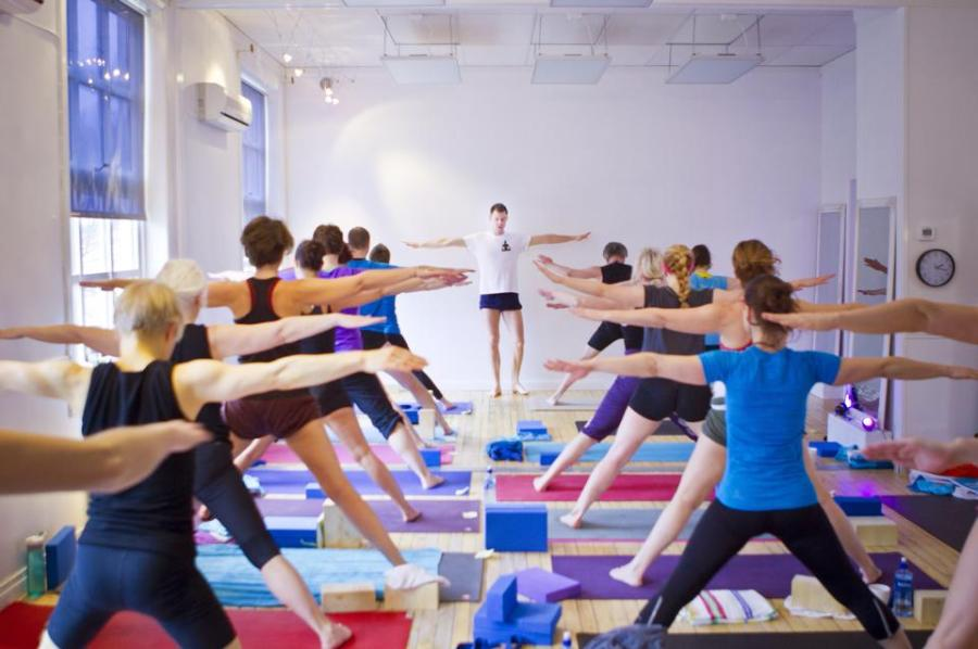 Hot Yoga med IR Varme hos Yoga North